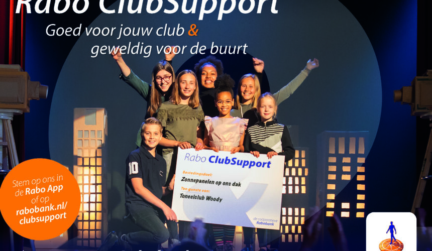 Geef ons je stem voor Rabo Club Support 2020