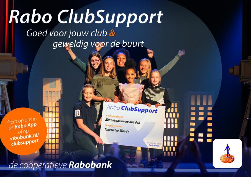 Geef ons je stem voor Rabo Club Support 2020